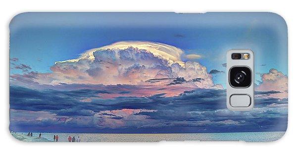 Sunset Over Sanibel Island Galaxy Case