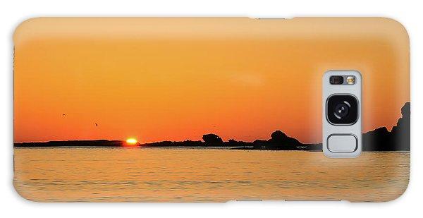 Sunset Over Sunset Bay, Oregon 4 Galaxy Case