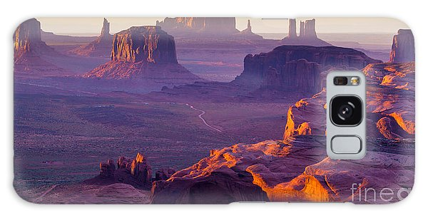 Southwest Usa Galaxy Case - Sunset Over The Hunts Mesa by Ronnybas Frimages