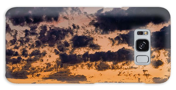 Sunset Over The Indian Ocean Galaxy Case