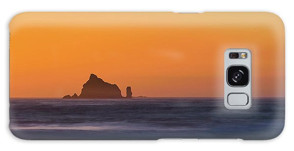 Sunset Over The Pacific Galaxy Case