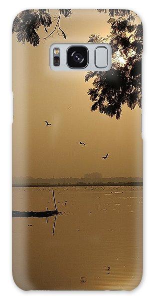 Landscapes Galaxy Case - Sunset by Priya Hazra