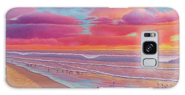Sunset Shore Galaxy Case