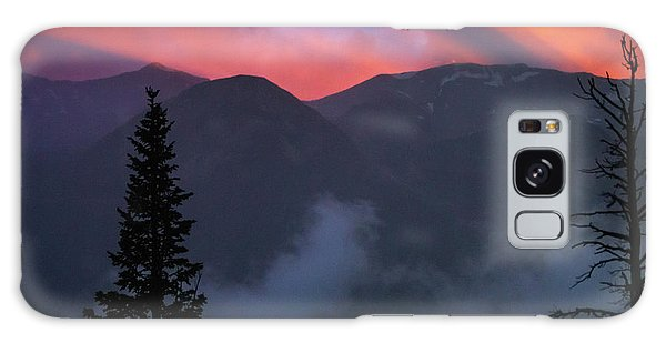 Sunset Storms Over The Rockies Galaxy Case