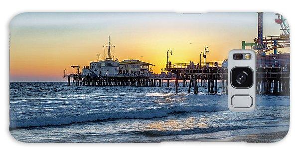 Sunset Under The Pier Galaxy Case