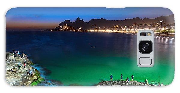 Attraction Galaxy Case - Sunset View Of Ipanema In Rio De by Catarina Belova