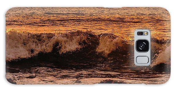 Sunset Wave Galaxy Case