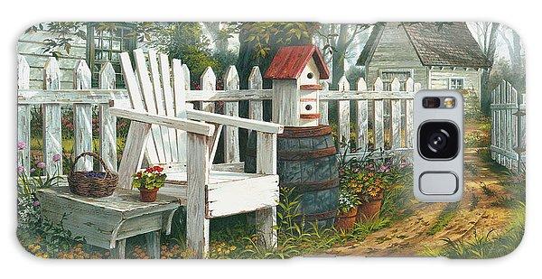 Adirondack Chair Galaxy Case - Sunshine Serenade by Michael Humphries