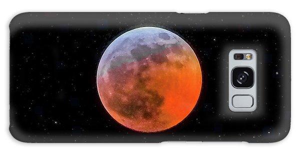 Super Blood Moon Eclipse 2019 Galaxy Case