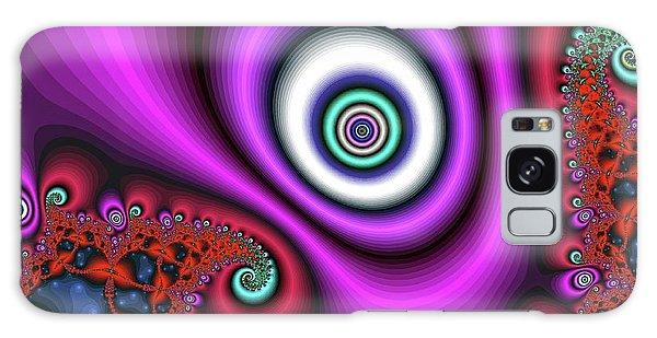 Super Hurricane Eye Magenta Galaxy Case