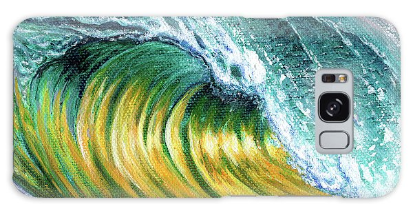 Surf Into The Sunset Galaxy Case