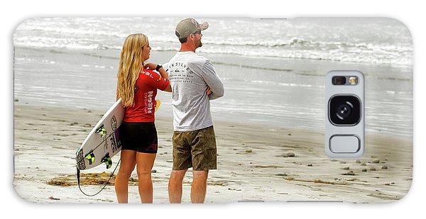 Surfer Girl Caroline Marks Galaxy Case