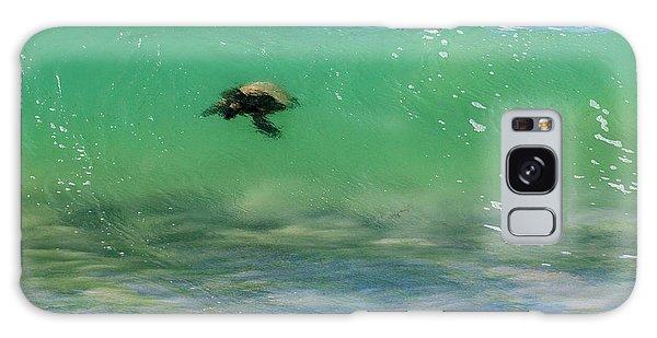 Surfing Turtle Galaxy Case