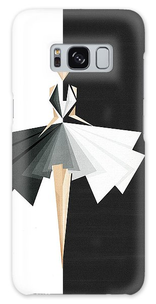 Black Galaxy Case - Swan Lake by Vess DSign