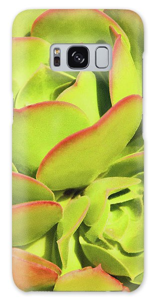 Sweet Succulents I Galaxy Case