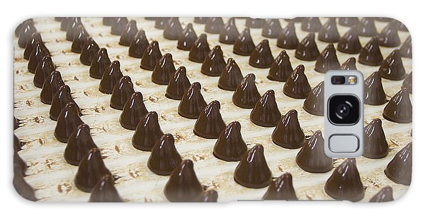 Tasty Galaxy Case - Sweets On A Chocolate Factory Conveyor by Photowind
