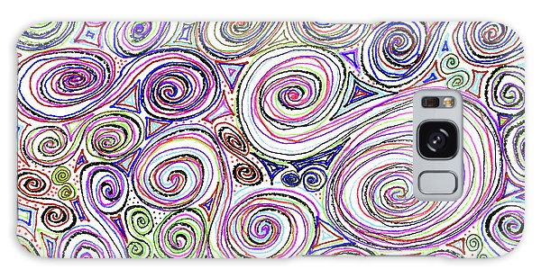 Swirls II Galaxy Case