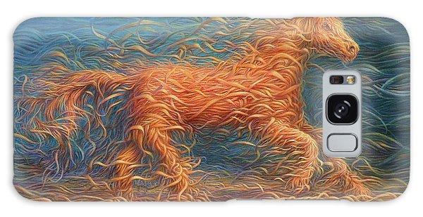 Swirly Horse 1 Galaxy Case