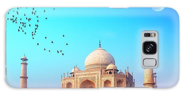 Dawn Galaxy Case - Taj Mahal India, Agra. 7 World Wonders by Banana Republic Images