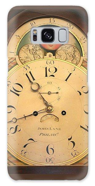 Tall Case Clock Face, Around 1816 Galaxy Case