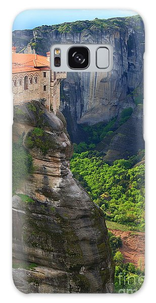 Scenery Galaxy Case - Tall Rock Pillars And The Holly by Inu