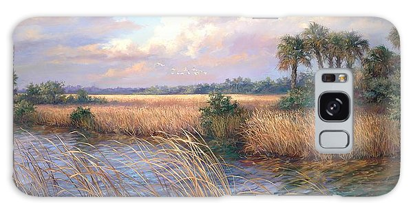 Old Florida Galaxy Case - Tamiami Trail by Laurie Snow Hein