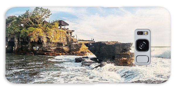Historical Galaxy Case - Tanah Lot Water Temple In Bali by Dmitry Polonskiy