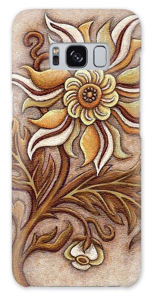 Tapestry Flower 1 Galaxy Case