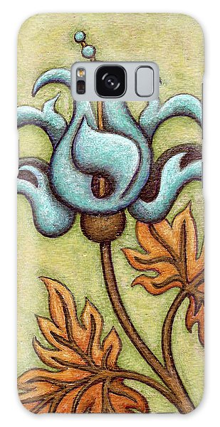 Tapestry Flower 2 Galaxy Case