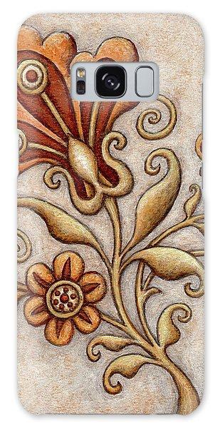 Tapestry Flower 3 Galaxy Case