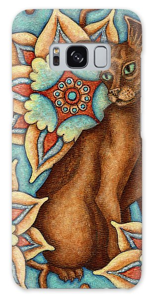 Tapestry Cat Galaxy Case