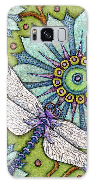 Tapestry Dragonfly Galaxy Case