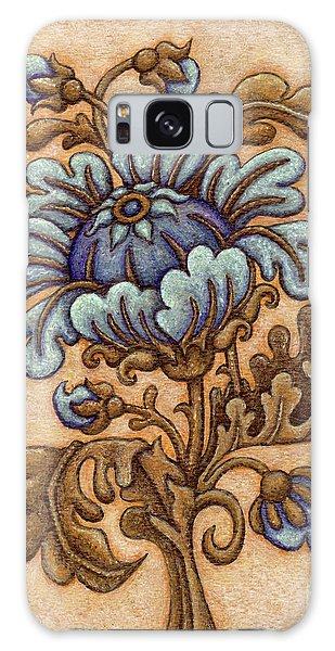 Tapestry Flower 5 Galaxy Case