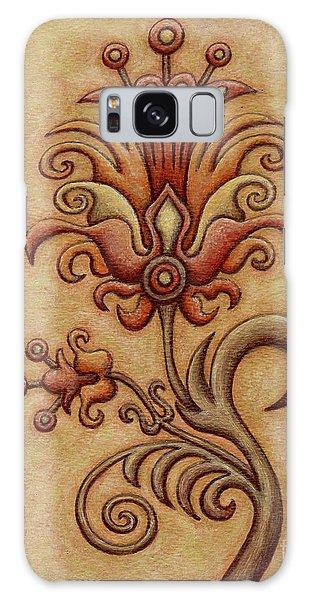 Tapestry Flower 7 Galaxy Case