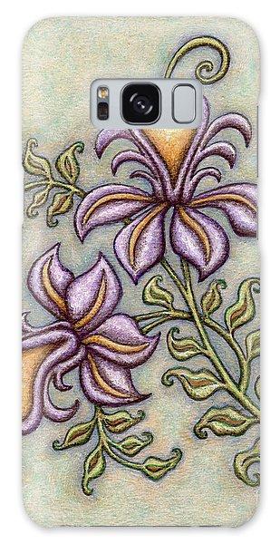 Tapestry Flower 8 Galaxy Case