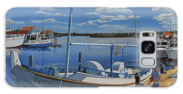 Galaxy Case featuring the painting Tarpon Springs Sponger by David Gilmore