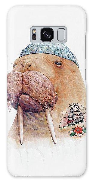 Marina Galaxy Case - Tattooed Walrus by Animal Crew