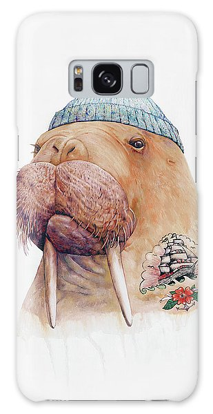 Animal Galaxy S8 Case - Tattooed Walrus by Animal Crew
