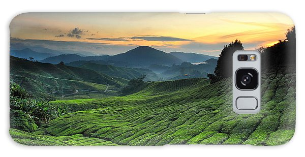 Farmland Galaxy Case - Tea Plantation Cameron Highlands by Noolwlee