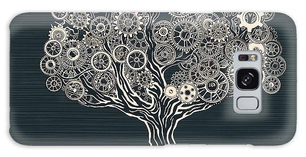 Metal Leaf Galaxy Case - Tech Tree by Ryger