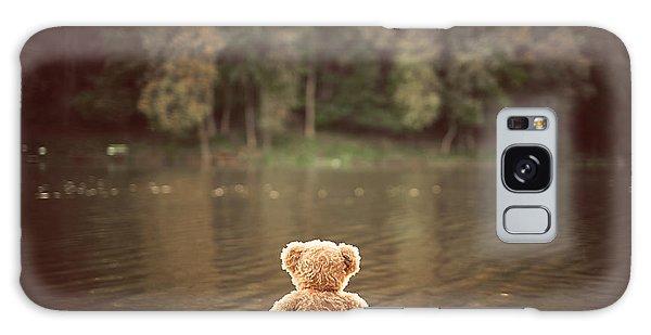 Furry Galaxy Case - Teddy Bear by Creaturart Images