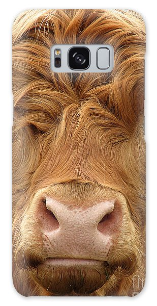 Highland Galaxy Case - Telephoto View Of The Face Of A by Janehyork