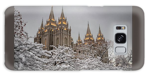 Temple In The Snow Galaxy Case