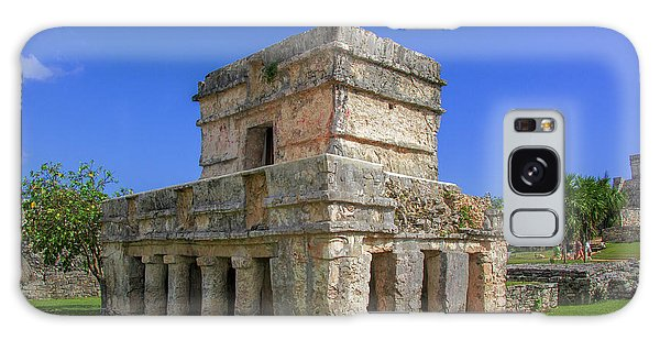 Temple Of The Frescoes Galaxy Case