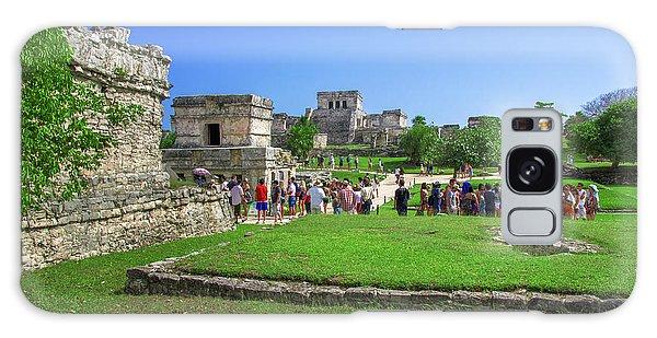 Temples Of Tulum Galaxy Case