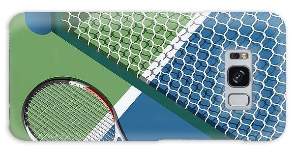 Horizontal Galaxy Case - Tennis Court by Nikola Knezevic
