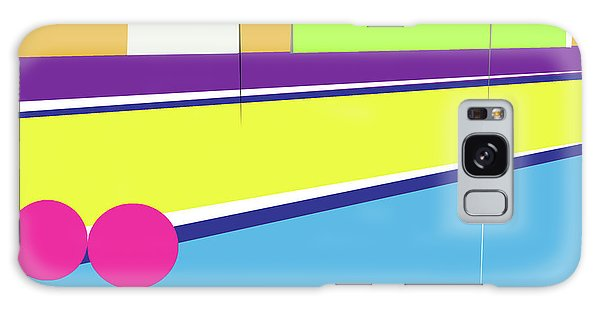 Tennis In Abstraction Galaxy Case