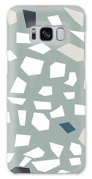 Stone Wall Galaxy Case - Terrazzo 1- Art By Linda Woods by Linda Woods