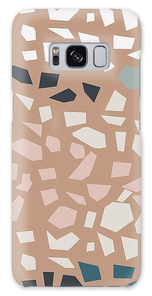 Stone Wall Galaxy Case - Terrazzo 4- Art By Linda Woods by Linda Woods