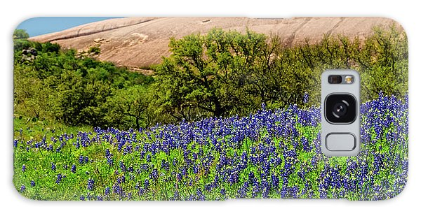 Texas Bluebonnets And Enchanted Rock 2016 Galaxy Case